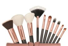 10 Piece Make Me Up brush set Rural Living